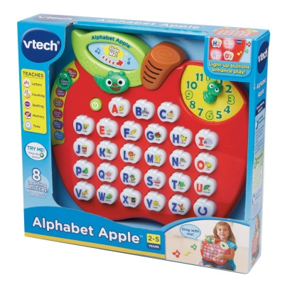 alphabet apple vtech toys that start with a box