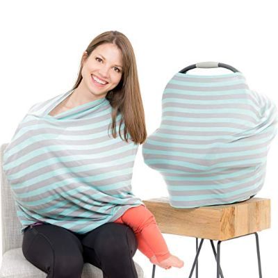 Cool Beans Baby Soft and Stretchy as nursing cover