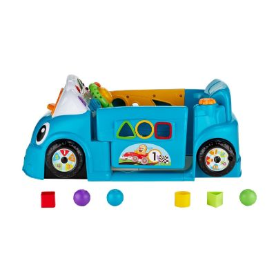fisher-price smart stages crawl around toy car side view