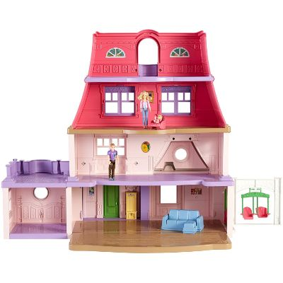 fisher-price loving family dollhouse front