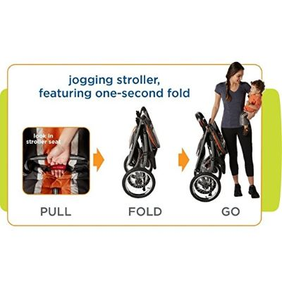 graco fastAction jogger travel system folding