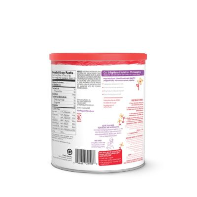 happy baby probiotic pack of 6 organic baby cereal back