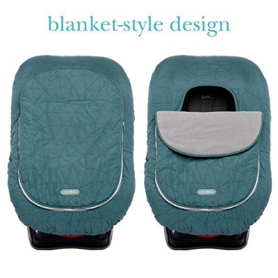 JJ Cole Weather Resistant blanket-like car seat cover