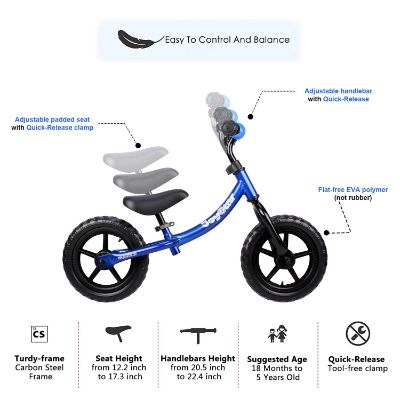 joystar balance bike features