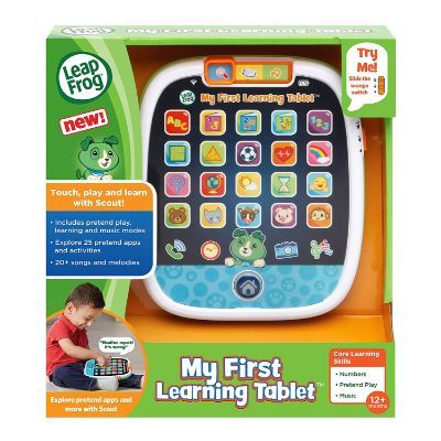 leapFrog my first learning tablet for kids package