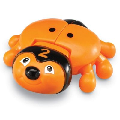 learning resources snapnLearn number bug toys orange