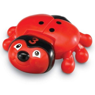 learning resources snapnLearn number bug toys red