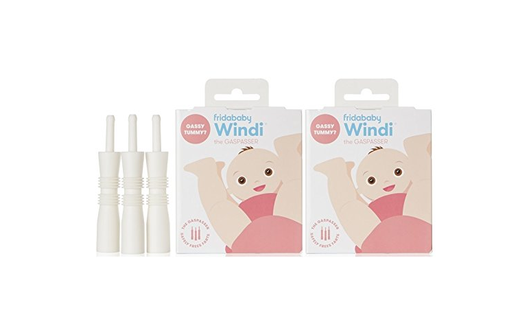 The Windi the Gaspasser by Fridababy provides instant gas relief.