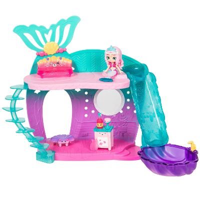 happy places mermaid reef retreat shopkins toys for kids piece