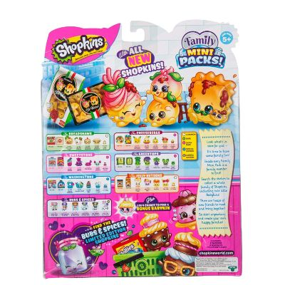 new families shopkins toys for kids pack