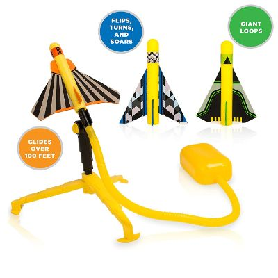 stomp rocket stunt planes flying toy design
