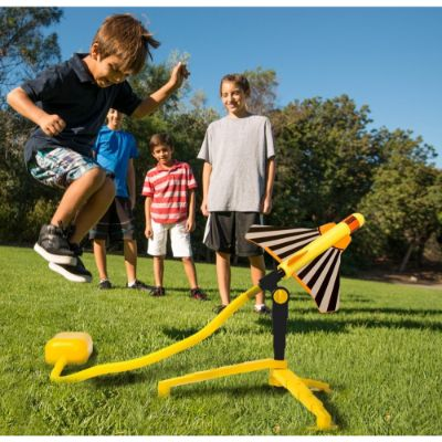 stomp rocket stunt planes flying toy kids
