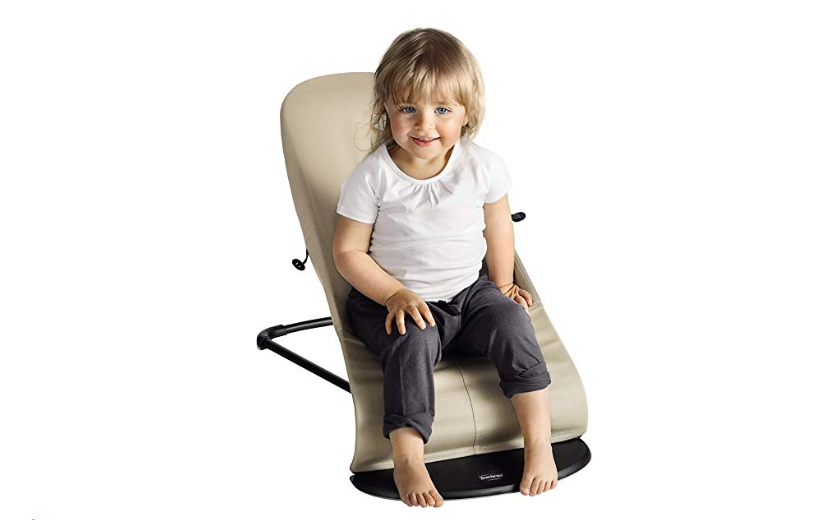 The BabyBjorn Bouncer Balance Soft offers proper seating support for your growing child.