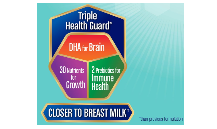 The Enfamil Newborn Forrmula comes near breast milk in terms of benefits for newborns.