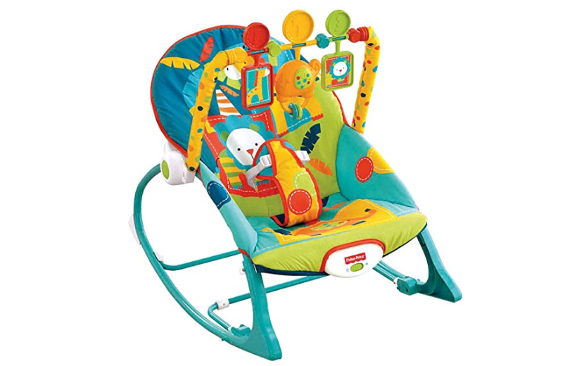 The Fisher-Price Infant to Toddler rocker grows with your baby.