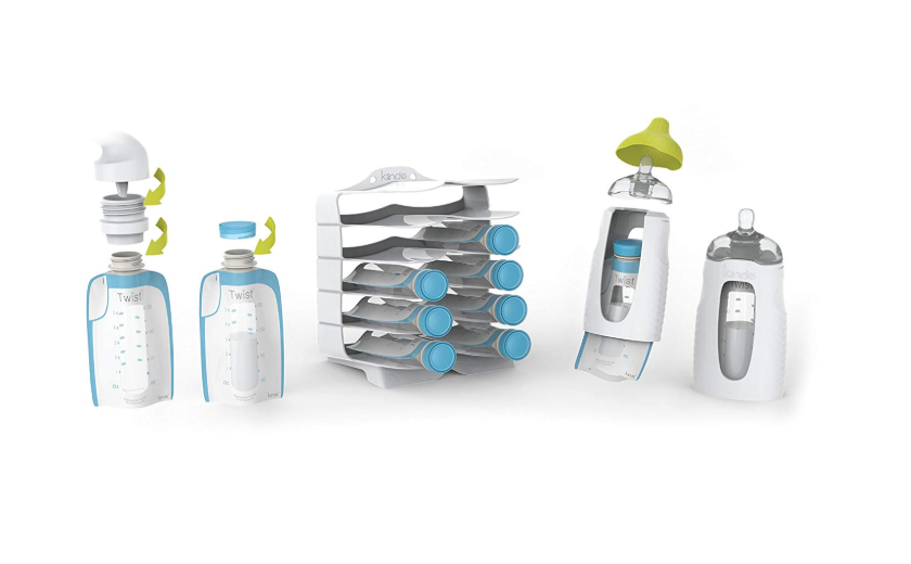 The Kiinde Twist Breast Milk Storage Kit is very easy to use.