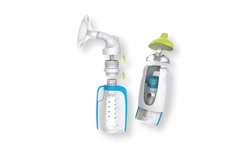 The Kiinde Twist Breast Milk Storage Kit helps with colic.
