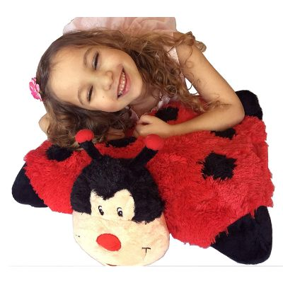 zooPurr ladybug pillow pal bug toys kid