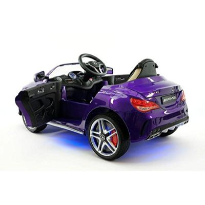 moderno mercedes electric cars for kids side view