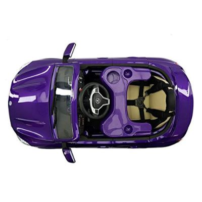 moderno mercedes electric cars for kids top view