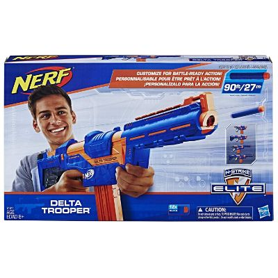 n-strike elite delta trooper nerf gun box