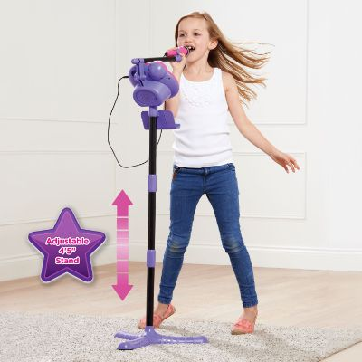 VTech Kidi Super Star Karaoke System with Microphone and Mic Stand Best Kids Karaoke Machines singing