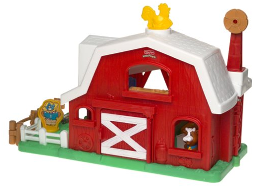 The Fisher-Price Little People Fun Sounds Farm includes 3 easy-connect fence pieces.