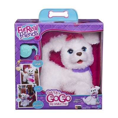 get up and go go walkin pup furreal friends package