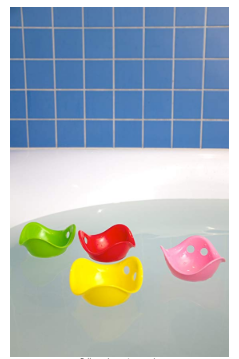 You can use the Genuine Bilibo Toy as a bath toy.