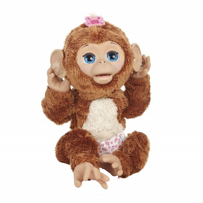 cuddles giggly monkey furreal friends sounds
