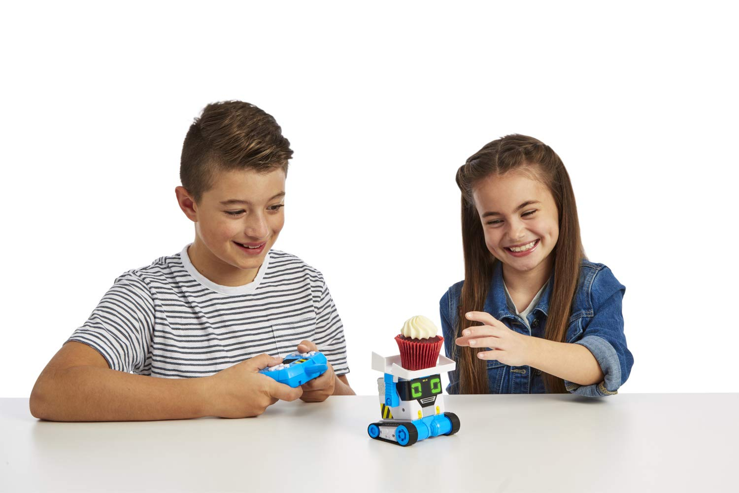 The MiBro robot allows kids to come up with various play scenarios.