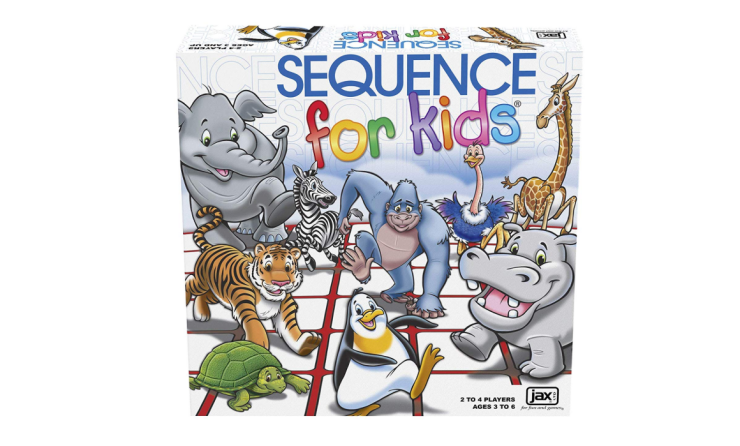 The Sequence For Kids develops logical thinking skills.