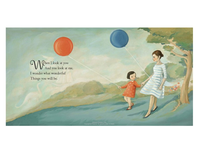 The Wonderful Things You Will Be encourages a healthy emotional development in young children.