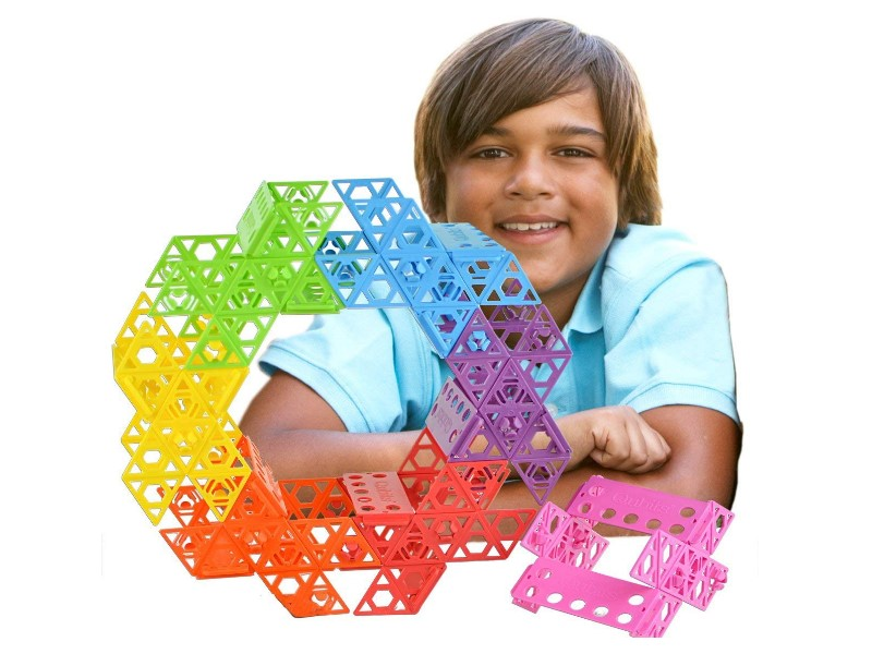 The Qubits STEM Construction Toy Kit offers various building options.