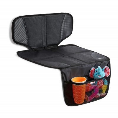 munchkin auto car seat protector side view