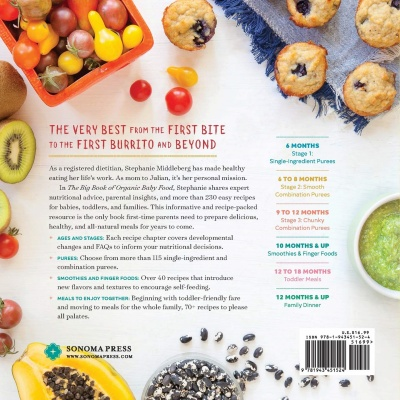 The Big Book of Organic Baby Food details