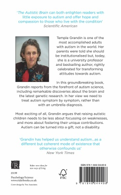 the autistic brain book author