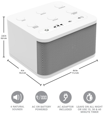 big red rooster white noise sleep sound machines details