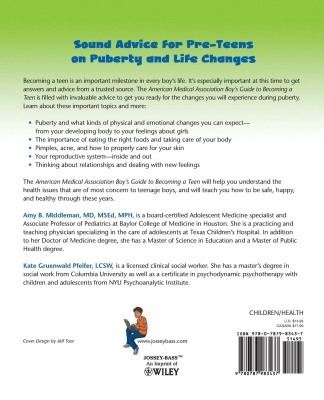 boy's guide to becoming a teen puberty book for boys back