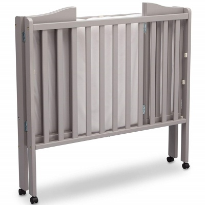 delta children portable cribs folded