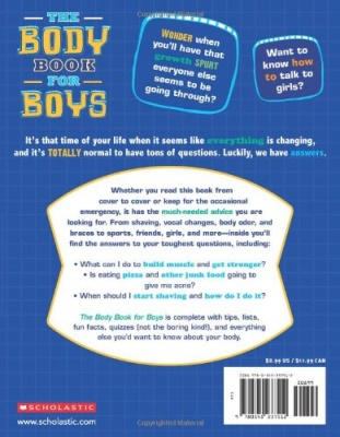 the body book for boys back