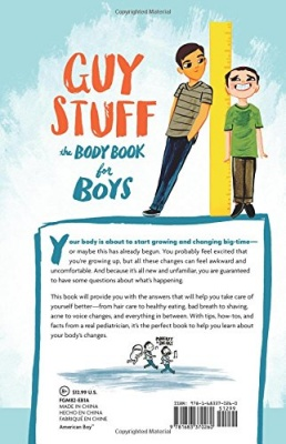 guy stuff puberty book for boys back