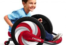 Read our review on the Radio Flyer Cyclone.