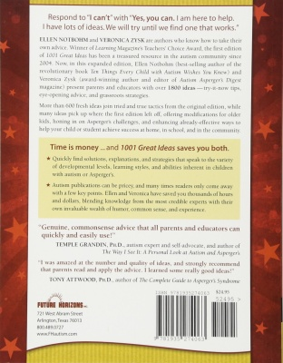 1001 great ideas book on autism description
