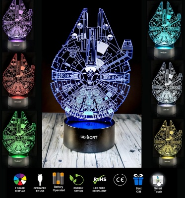 UbiKort Star Wars Lamp Colors
