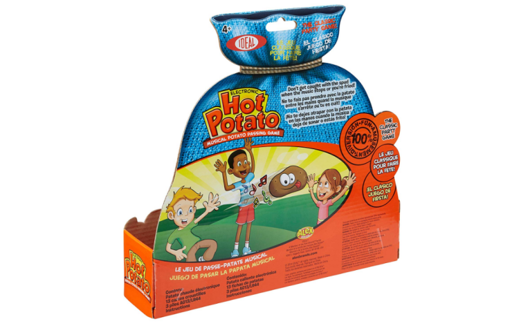 The Hot Potato Musical Passing Game is designed for 2 to 6 players.