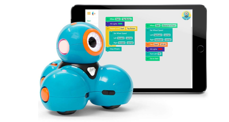 The Dash Robot by Wonder Workshop can help kids build confidence.