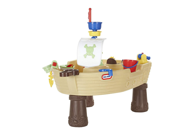 Assembly is required for the Little Tikes Anchors Away Pirate Ship.