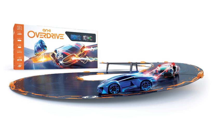 The Anki Overdrive race car sets.