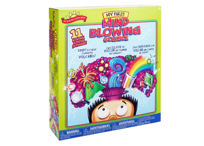 The Scientific Explorer My First Mind Blowing Science Kit